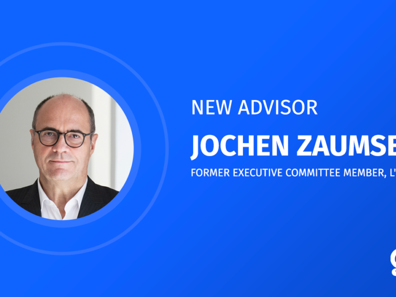 Jochen Zaumseil, former executive committee member, l'Oreal